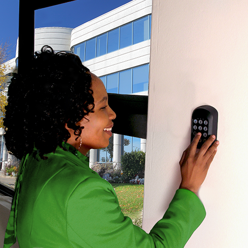 SMARTGUARDair fully-wireless keyless access control system