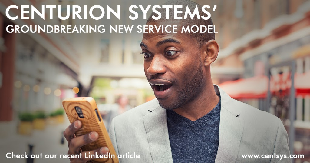 Centurion Systems' Groundbreaking New Service Model