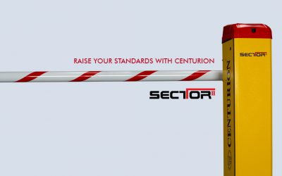Raise Your Standards with the CENTURION SECTOR II Traffic Barrier